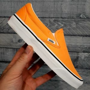 Vans CLASSIC SLIP ON Orange Unisex Shoes